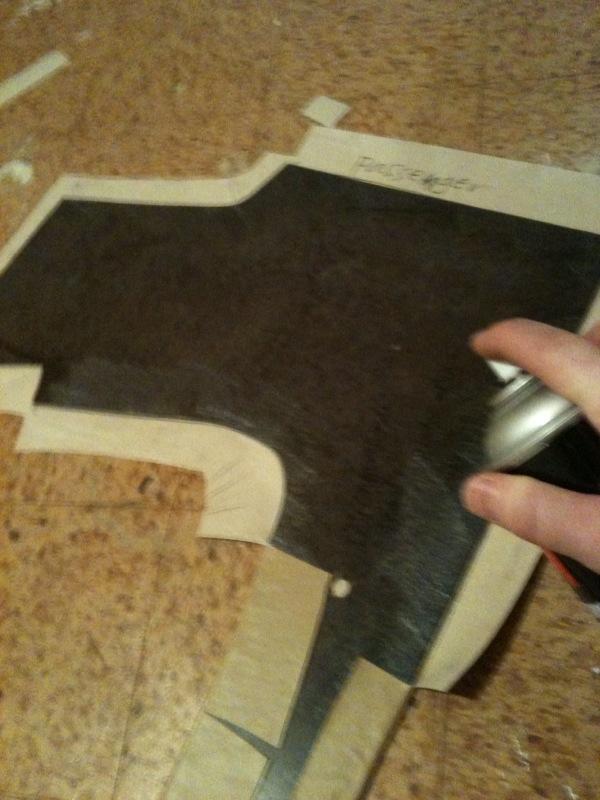 folding over panels