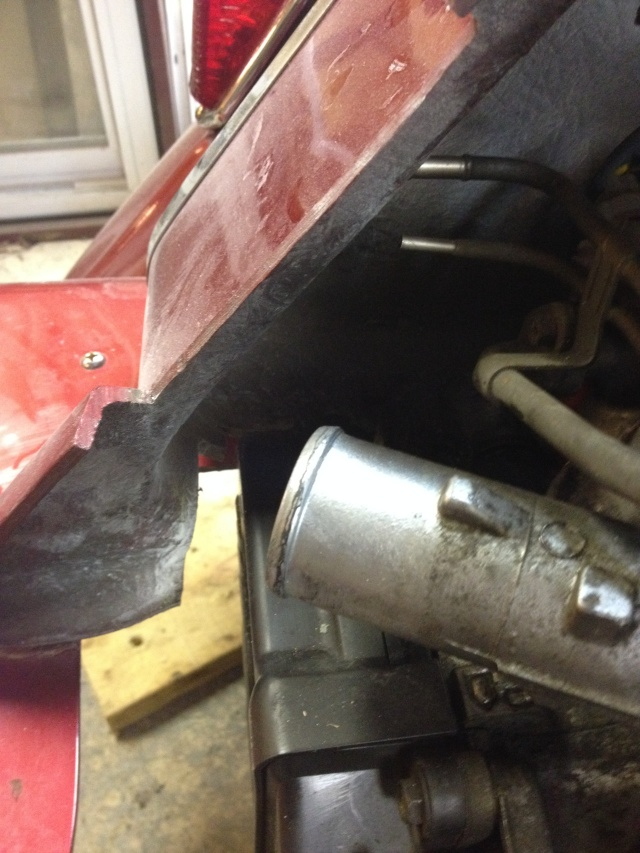 tank end gap left